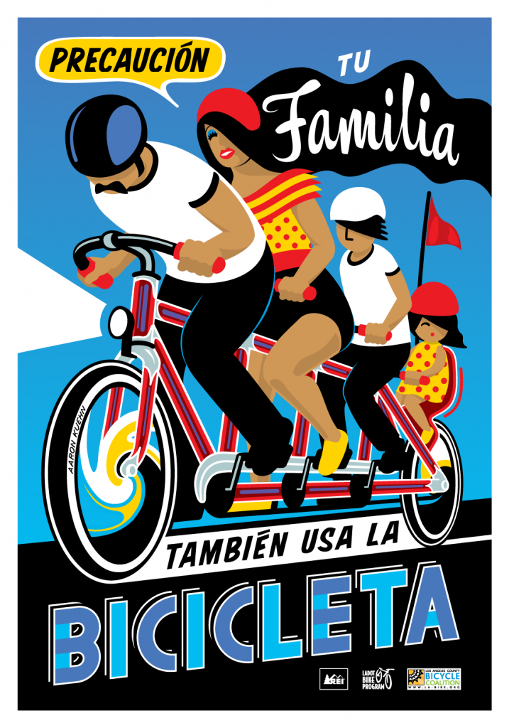 Bicycle Safety Campaign Poster